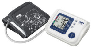 A&D Medical UA-1020-W Upper Arm Blood Pressure Monitor with Atrial Fibrillation Screening